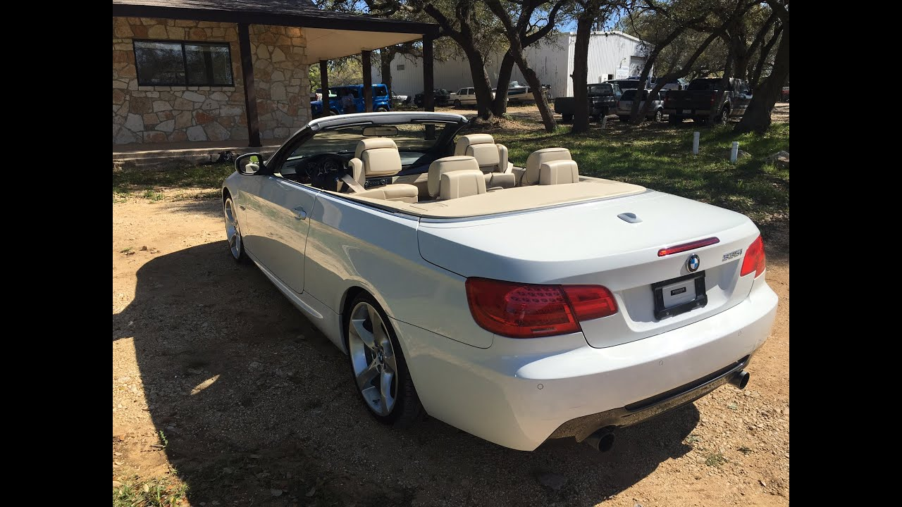 2012 BMW 335i M Sport Convertible GRANADE MOTOR CARS  YouTube