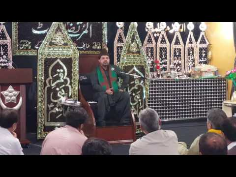 Jashan 3 and 4 shabaan recited by Allama Asif Raza Alvi at Al Murtaza Trust Manchester uk. Part 1/2