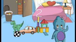 LOS JUGUETES EN INGLÉS PARA NIÑOS. Toys in English for kids + find out toys game