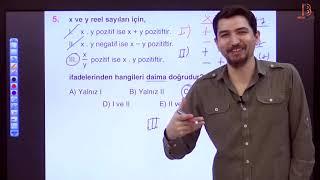 3) İlyas GÜNEŞ - Temel Kavramlar TEST - III (TYT Matematik Soru Çözüm) 2019