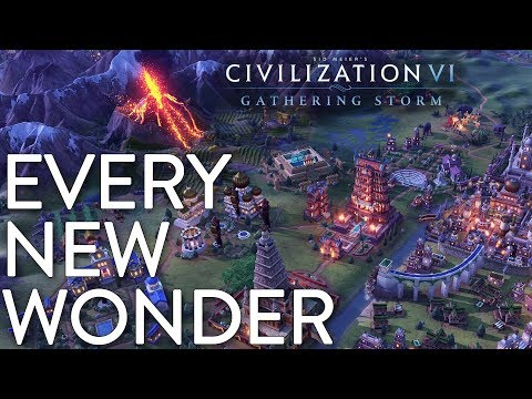 Every New Wonder in Civilization VI: Gathering Storm