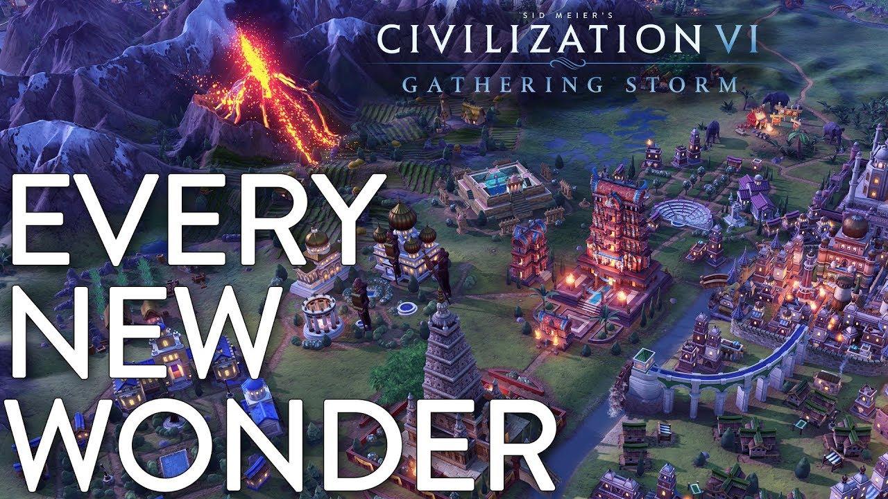 Every New Wonder in Civilization VI: Gathering Storm