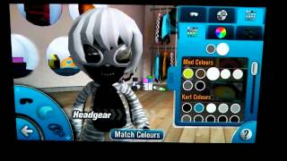 Mod Nation Racers Road Trip PS Vita character customization