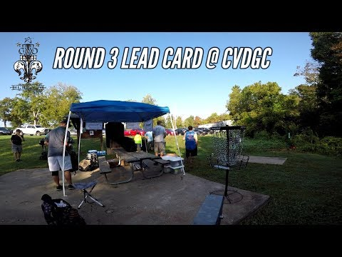 2017 Charlie Vettiner Open: Round 3 Lead Card (Schick, Dickerson, Diehl, Harvey)