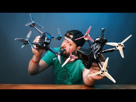 Is Building An FPV Drone BETTER Than Buying The DJI FPV Drone?