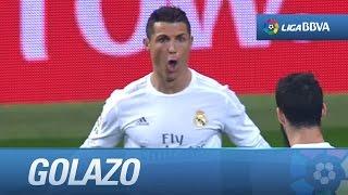Golazo de Cristiano Ronaldo (4-0) Real Madrid - RCD Espanyol