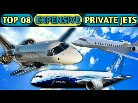 Top 08 Most Expensive Private Jets In The World 2018