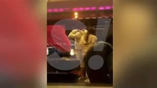 """Регина Тодоренко и Влад Топалов открыто целуются в """"Макдоналдсе"""""""