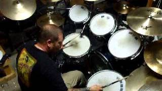 Anthrax Safe Home Drum Cover
