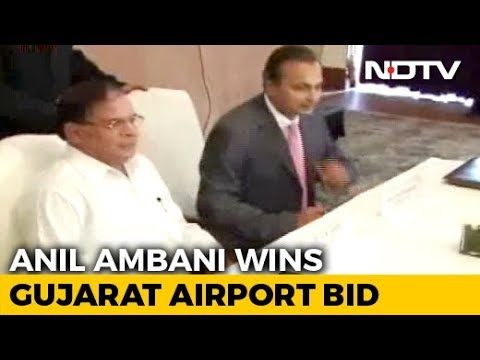 Anil Ambani Company Lands Rs. 648 Crore Airport Contract In Gujarat