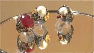 В музее «Город» стартовала выставка-продажа ювелирных изделий «Магия самоцветов