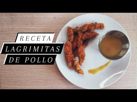 Lagrimitas De Pollo Al Horno Con Salsa De Mostaza Y Miel Youtube