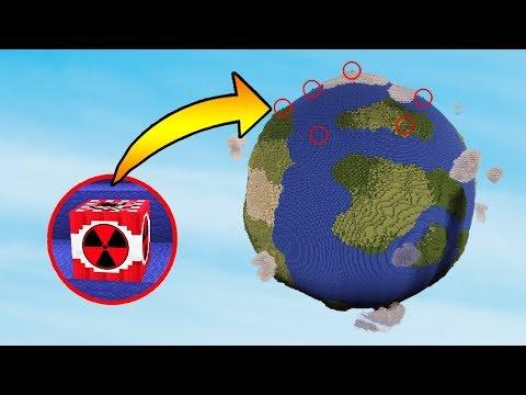 EARTH VS 50 MEGA NUKES | Minecraft