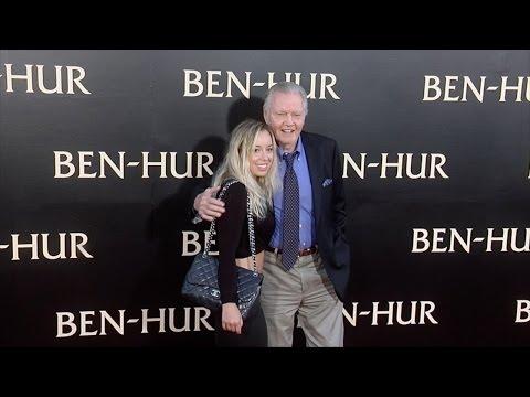 "Jon Voight ""Ben-Hur"" Los Angeles Premiere Red Carpet"