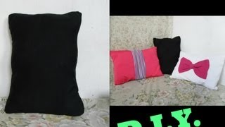 DIY:turn your old clothes to pillows
