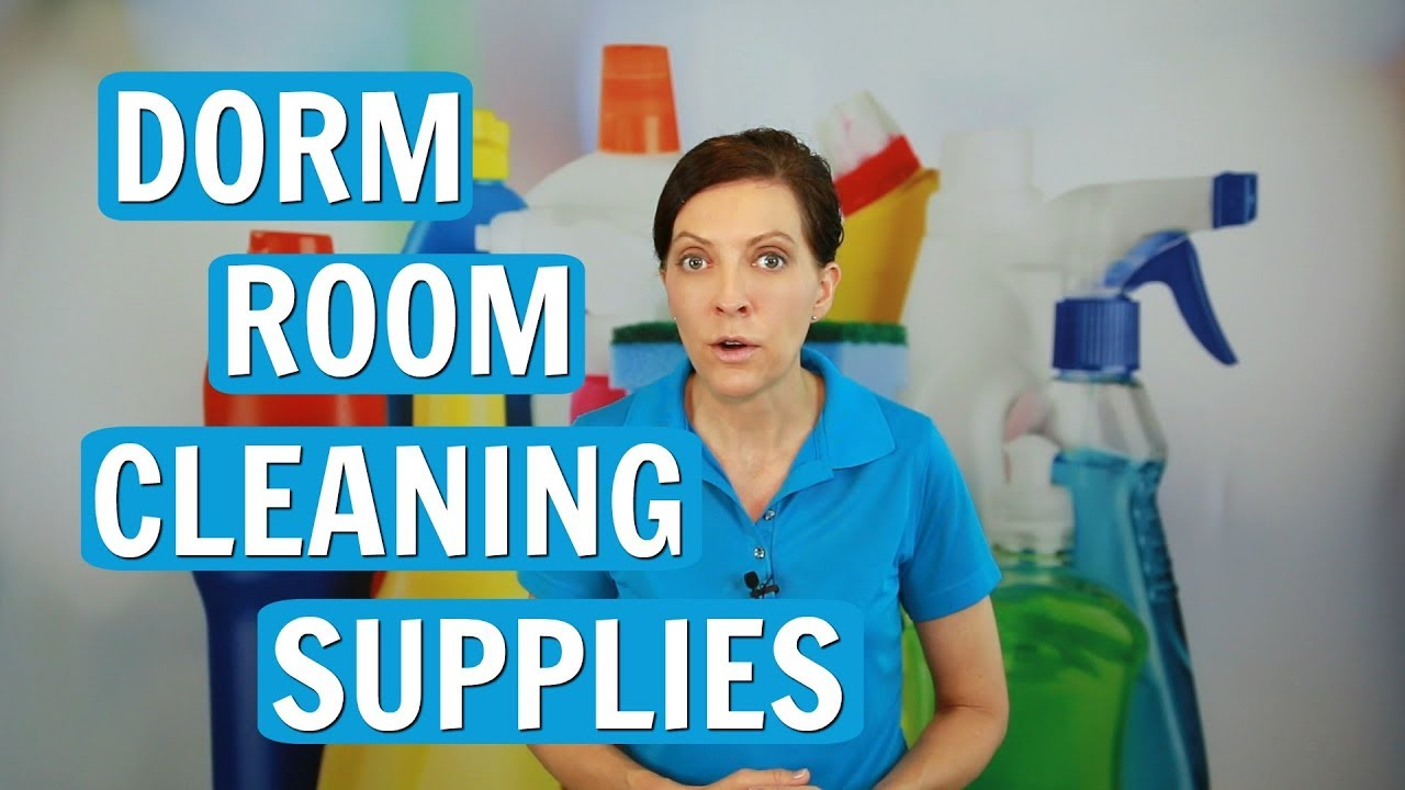 Dorm Room Cleaning Supplies Part 27