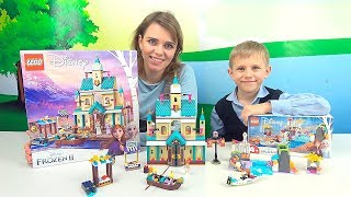 Фото ХОЛОДНОЕ СЕРДЦЕ 2 и Даник   LEGO Замок Эренделль 41167 и Экспедиция Анны на каное 41165.