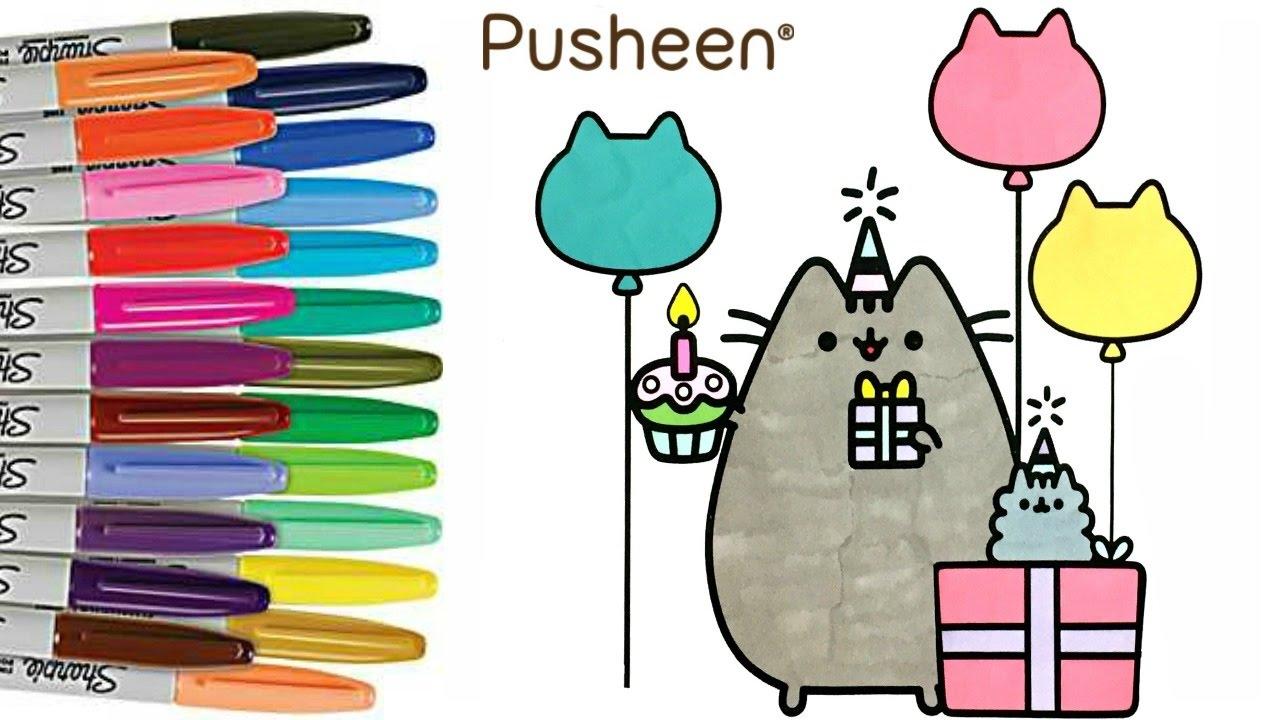 Pusheen Coloring Book Pusheen Cat