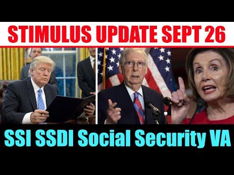 Stimulus Check Update | SSI SSDI Social Security VA Medicare | $200 Medicare Debit Cards | Sept 26th