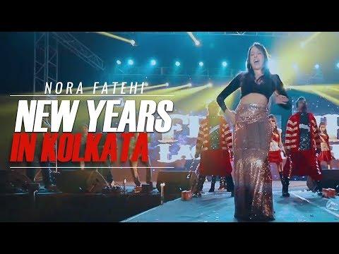 Nora Fatehi New years in Kolkata