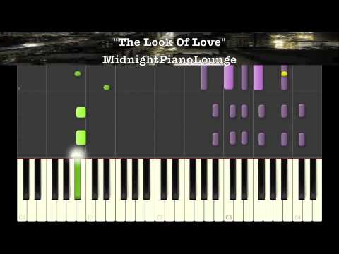 ♫ Look Of Love By Isaac Hayes Piano Tutorial In Eb Major ♫