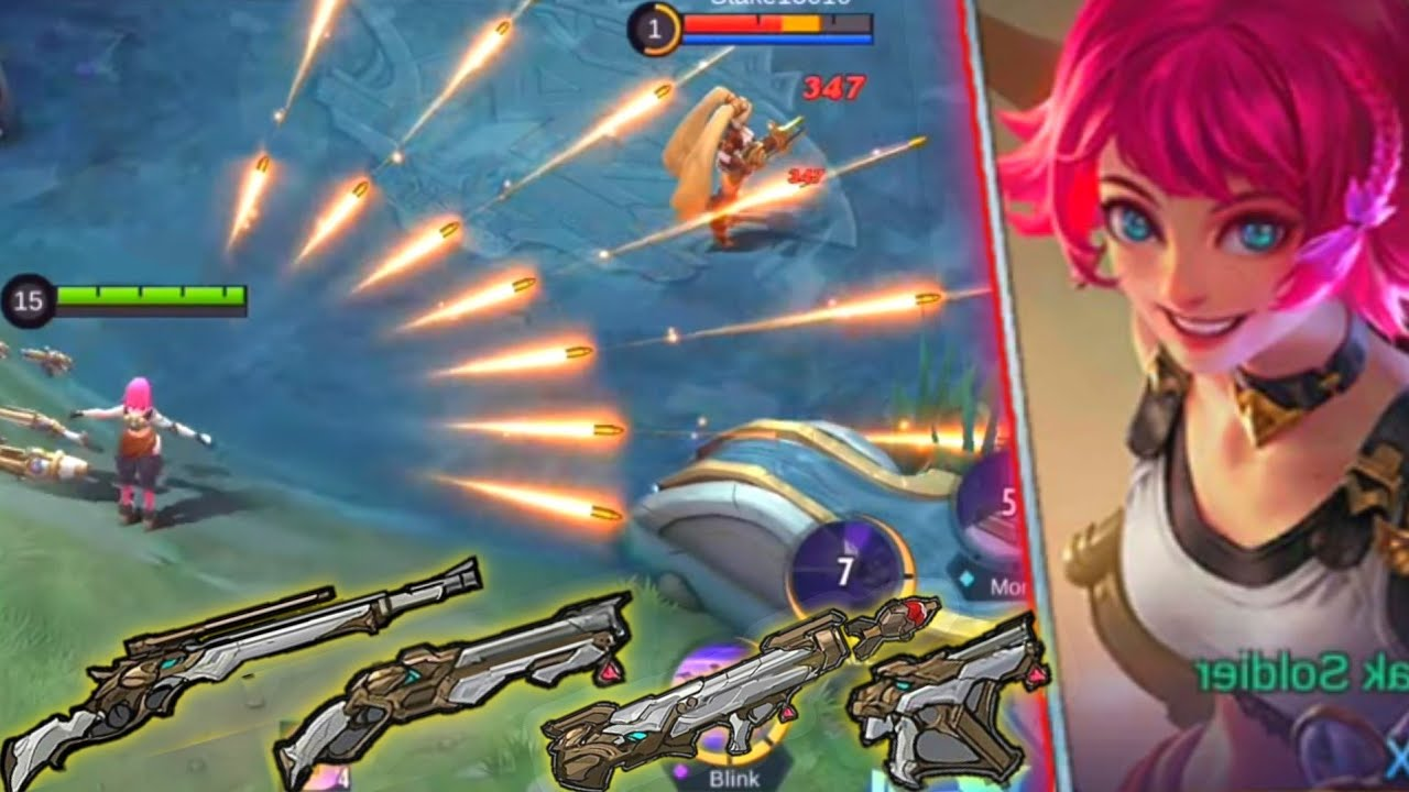 NEW HERO BEATRIX ! MM Yang Punya 4 Senjata + Skill nya Ada Banyak