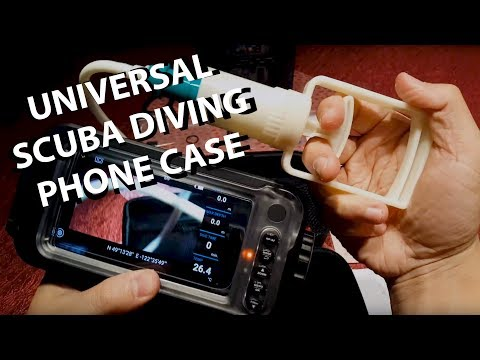 Ocean Pictures: Universal Scuba Diving Phone Case Review PART 1