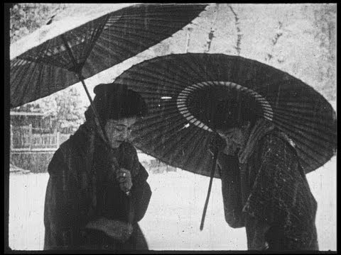 Japan under the snow in 1916 日本雪国