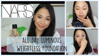 ファンデーションレビュー ♡ NARS All Day Luminous Weightless Foundation
