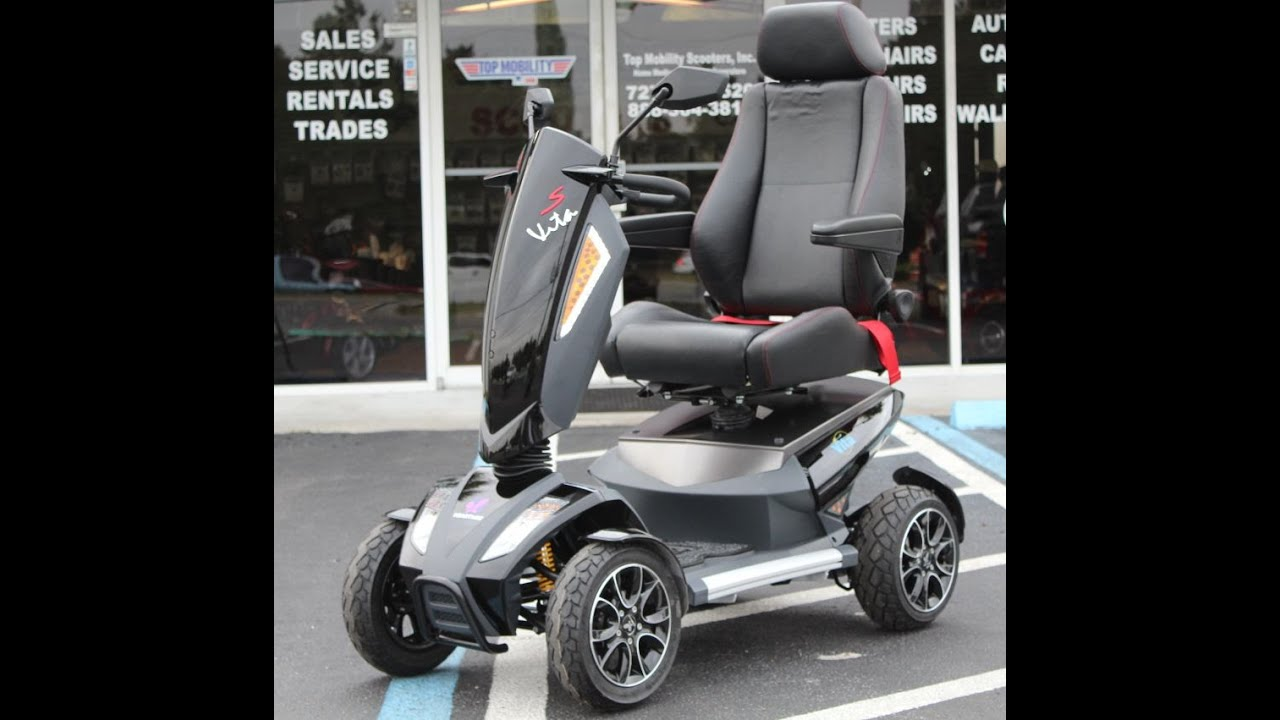Heartway Vita Sport S12s Luxury Mobility Scooter at Top Mobility