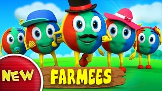 Color Ball Finger Family | Nursery Rhymes | Kids Songs | Baby Rhymes by Farmees S02E116