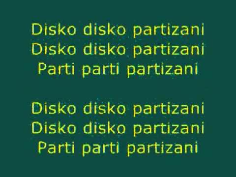 DJ Shantel Disko Partizani Lyrics Balkan Beats