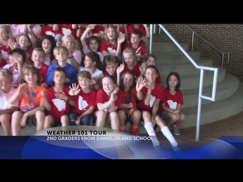 Daniel Island School visits Rob Fowler at News2_April 3rd