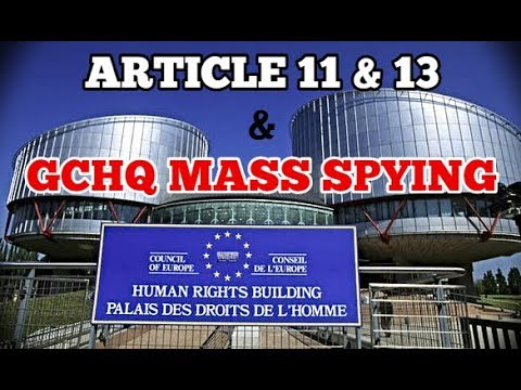 9/14 The Strasbourg Court is SCREWING EUROPE (Article 13 & GCHQ foreign spying) #Snowden