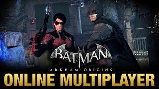 Batman Arkham Origins Multiplayer Gameplay 6 Nightwing Origins