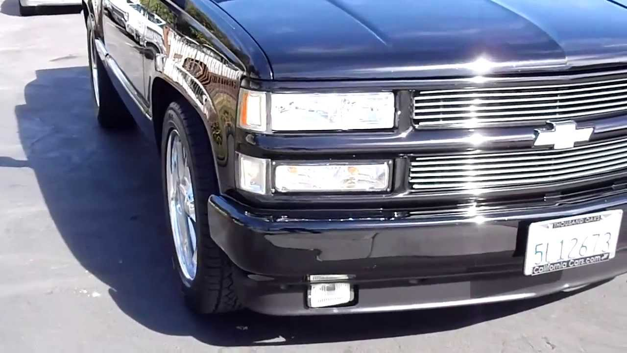 1997 Chevrolet C1500 Stepside Youtube