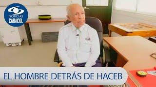 Dueño de la empresa de electrodomésticos Haceb tiene 99 años y sigue trabajando | Noticias Caracol