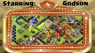 Clash of Clans Special Guest Attackers - Godson from GodsonCoC!