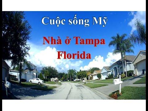 Vlog Cuộc sống Mỹ - Số 6 - Nhà ở Tampa - FL