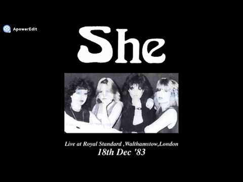 She-Live at Royal Standard,Walthamstow,London 18th Dec '83