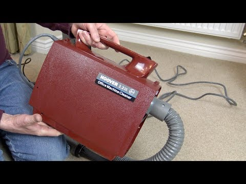 Hoover C2093 Portapower Office Machine Cleaner Unboxing
