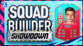 Fifa 20 Squad Builder Showdown Lockdown Edition!!! STRIKER 5 STAR SKILLS NICK POPE!!! vs Bateson
