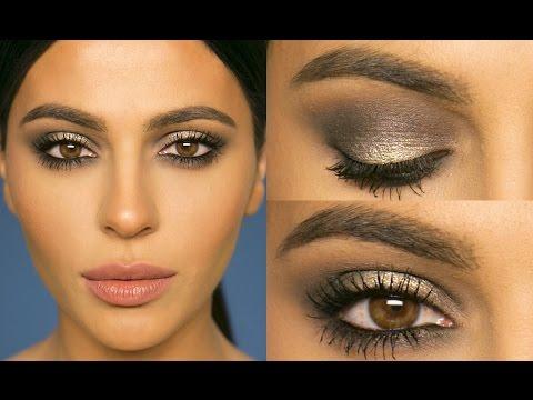 Gray Smokey Eye Makeup Tutorial | Teni Panosian