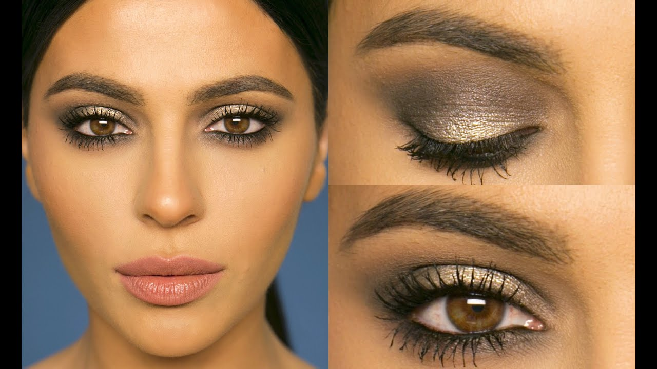 Gray Smokey Eye Makeup Tutorial Teni Panosian Youtube