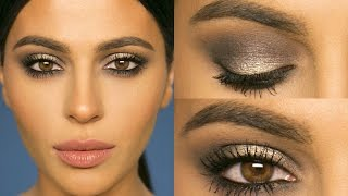 Gray Smokey Eye Makeup Tutorial | Teni Panosian