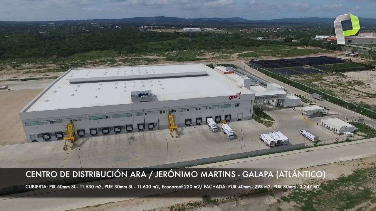 Centro de distribucin ARA  Jernimo Martins  Galapa