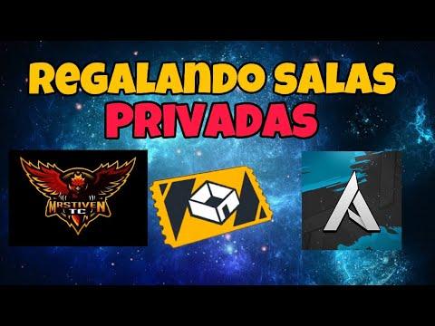 REGALANDO SALAS PRIVADAS CON MR STIVEN TC/Antronixx G (JUEGA CON NOSOTROS) FREE FIRE
