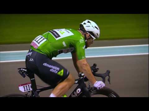 Mark Cavendish wins the YAS ISLAND STAGE (Yas Marina Circuit) of the 2016 Abu Dhabi Tour