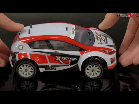 MicroX Racing 1/24 Mini Scale Rally RC Car Overview
