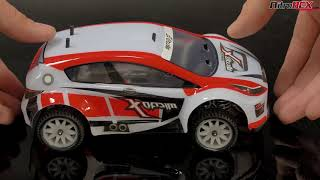 MicroX Racing 1/24 Mini Scale Rally RC Car Overview